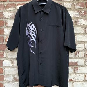 Dragonfly Clothing Co. Button Up Tribal Shirt 90s
